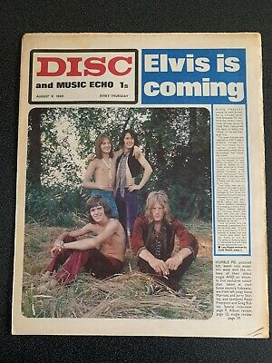 Disc And Music Echo August 8 1969 • 6.99£
