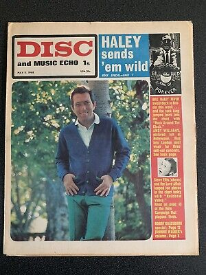 Disc And Music Echo May 11th 1968 • 6.99£