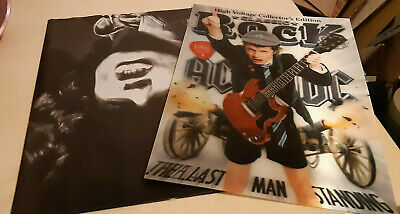 AC/DC.  3-D Cover + Poster • 7.99£