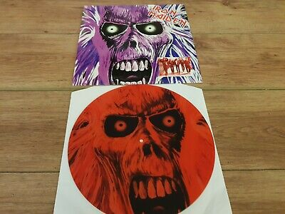 Iron Maiden -  1st Album Demo -  Rare 4 Track No'd Red Picture Disc Lp Mint !!! • 30.99£