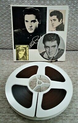 ELVIS PRESLEY -  KING CREOLE  Super 8mm Film, Black And White With Sound. VGC. • 4.99£