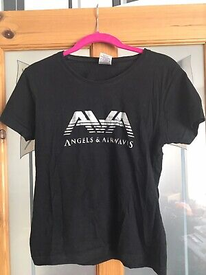 RARE Angels And Airwaves Logo BLINK 182 Tom Delonge T-shirt Small Unisex 8 10 12 • 16.99£