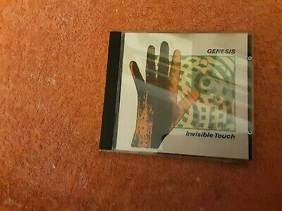 Genesis Invisible Touch Cd Unused • 2£