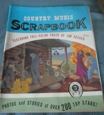 VINTAGE COUNTRY MUSIC SCRAPBOOK 17th Edition OVER 200 STARS • 3.70£