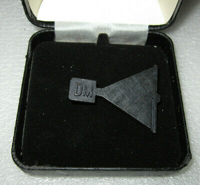 Depeche Mode Music For The Masses 1987 Promo Megaphone Metal Badge With Case Htf • 85.65£
