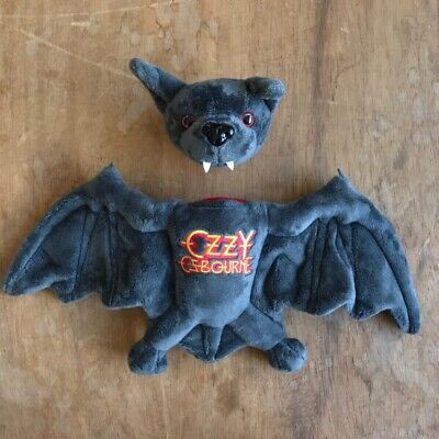 Ozzy Osbourne Plush Bat Toy Removable Head Official NEW Sealed • 48.99£