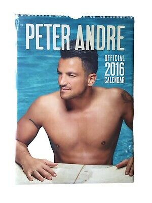 Peter Andre Official 2016 Calendar Brand New And Sealed • 10£