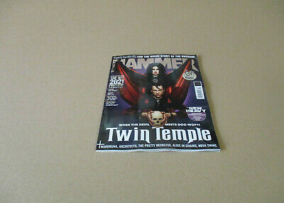 Metal Hammer #344 Feb 2021 Twin Temple Cover The Big 2021 Preview Metal News  • 10.55£