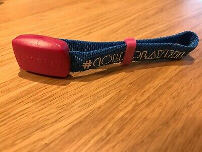 Genuine Electronic Flashing Coldplay 2012 Mylo Xyloto Tour Concert Wristband • 0.99£