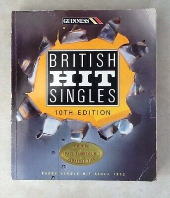 Guinness Book Of British Hit Signals 10th Edition 1952- 1994 • 5£