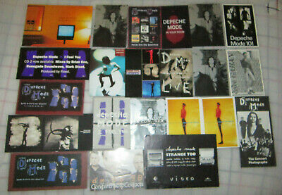 Genuine Depeche Mode Promo Post Card & Flyer Collection 34 Items Mute Uk 1993> • 66.48£