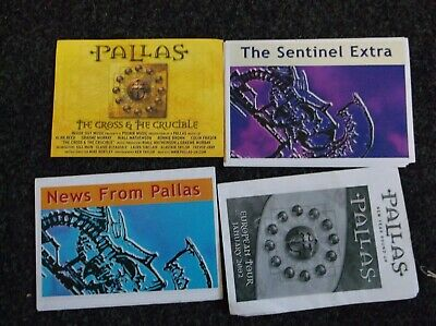 Pallas Prog Band Postcard And Fan Mailouts  • 4.50£