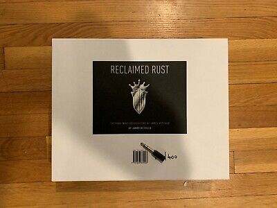 Reclaimed Rust Limited Edition Signed Box Set #??1/400 James Hetfield Rare • 679.49£