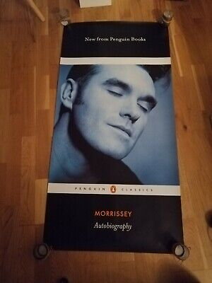 Morrissey Autobiography Poster Rare. The Smiths • 49.99£
