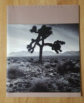U2 Joshua Tree Original Concert Program • 3.99£