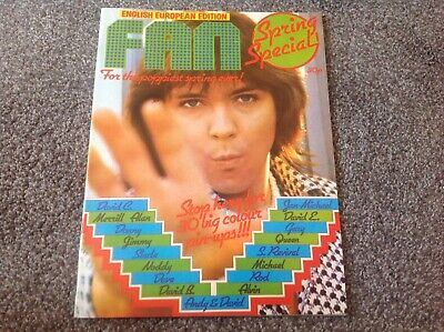 Fan Magazine May 1974 Cassidy , Bowie , Slade Ect  • 7.50£