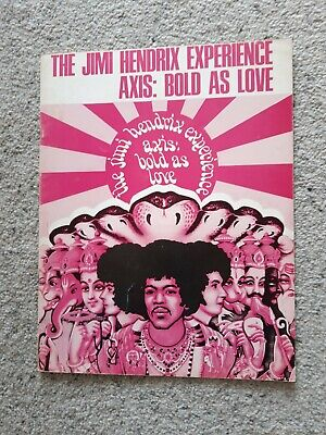 The Jimi Hendrix Experience Axis :bold As Love Songbook (1968) • 20£
