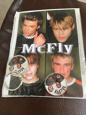 McFly Band Badge & Key Ring Set • 2.30£