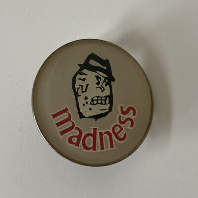 Madness - Metal Badge - Original - 80's - Ska - 2 Tone • 9.99£