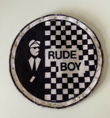 Rude Boy - Patch - Original - 80's - Ska - 2 Tone - Specials • 19.99£