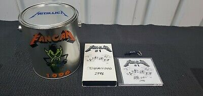 (Rare) Metallica Fan Can 1996 - Can Complete W/Tshirt & Collectibles  • 286.10£