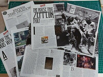 Led Zeppelin. Magazine Articles And Cuttings • 1£