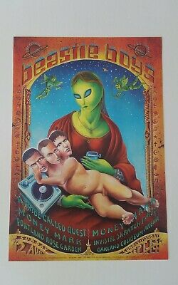 Beastie Boys Vintage Poster From 1998 Emek A Tribe Called Quest • 42.56£