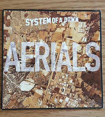 SYSTEM OF A DOWN Promo CD Single AERIALS • 14.99£