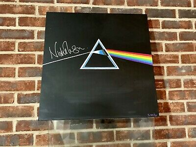 Pink Floyd Dark Side Of The Moon Rare Signed Wall Art. Original Sue Verity • 11.50£