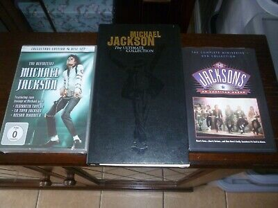 Michael Jackson Dvd And Cd Collection (the Ultimate Collection) ( The Jacksons-a • 25£