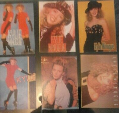 Kylie Minogue 6x Postcards • 10£