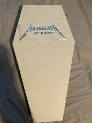 METALLICA - Death Magnetic (Limited Edition Coffin Box Set) No T-shirt • 50£