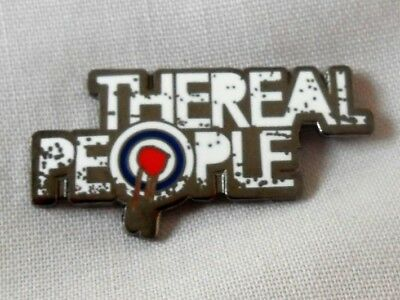 ***NEW*** The Real People Enamel Pin Badge. Monday Morning Breakdown, Mods • 3.99£