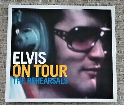 ORIGINAL 'ELVIS ON TOUR, THE REHEARSALS' - FTD CD - 82876 66397-2. Mint. • 14.99£