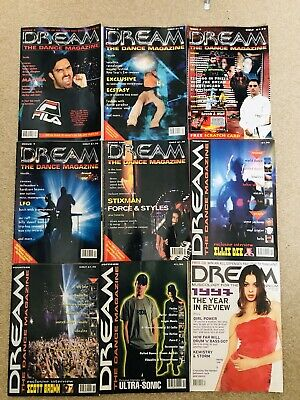 Dream Dance Rave Magazine Bundle • 2.20£