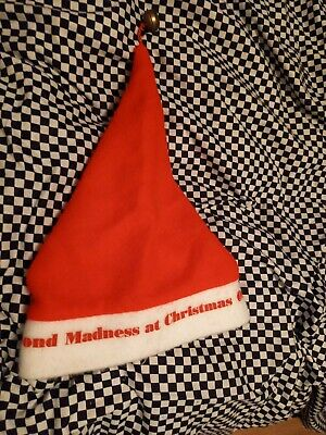 Madness Rare Christmas Hat From 12 Days Of Christmas Gigs 1980 • 21£