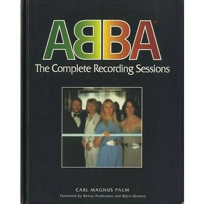 Very Scare ABBA  The Complete Recording Sessions Book 1994 Carl Magnus Palm • 30£