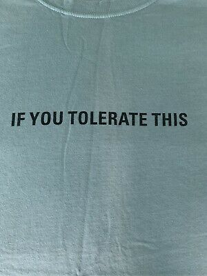 Manic Street Preachers If You Tolerate This T Shirt • 8.50£