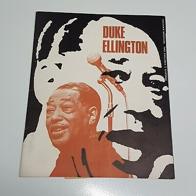 Duke Ellington Duke Ellington Souvenir Brochure Tour Programme UK 1967 VGC • 4.99£