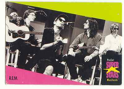 Rem - 1991 Proset Superstars Music Card • 1.75£