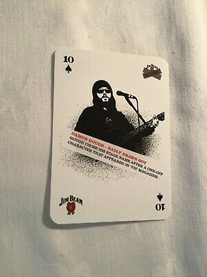 Damon Gough (badly Drawn Boy) Playing Card • 1.75£