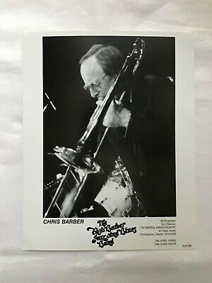 The Chris Barber Jazz And Blues Band Promo Management Photo Card  • 6.99£