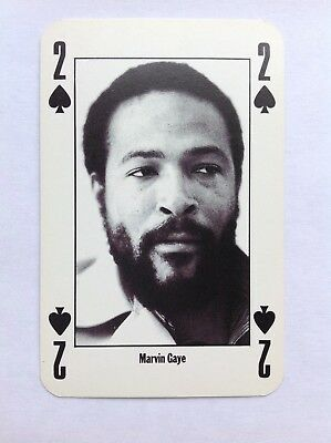 Nme Playing Card Marvin Gaye • 1.75£