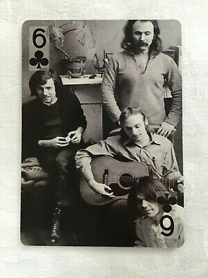Crosby, Stills, Nash & Young Playing Card • 1.95£