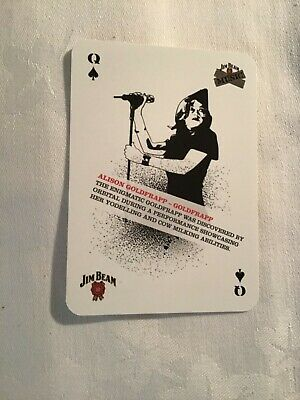 Alison Goldfrapp (goldfrapp) Playing Card • 1.75£