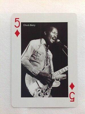 Chuck Berry Playing Card • 1.75£