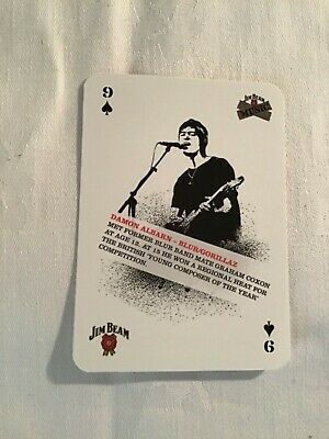 Damon Albarn (blur / Gorillaz) Playing Card • 1.75£