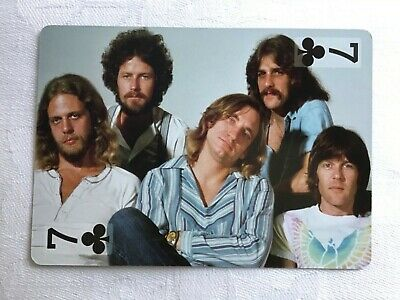 THE EAGLES PLAYING CARD (Don Henley, Joe Walsh) • 1.95£
