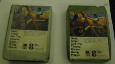 Herb Alpert And TheTijuana Brass. Going Places. Album.. 8 Track Stereo Cartridge • 2.99£