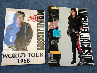 Michael Jackson Bad World Tour 1988 Programme Bundle  • 5£